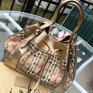 Authentic Burberry limited edition bag